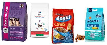 alimento para cachorro